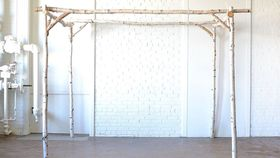 Image of a Birch Pergola/Mandap