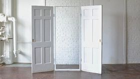 """Image of a Free Standing Doors - 30"""" Opening"""