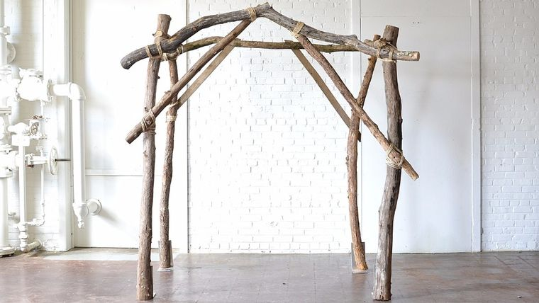 Picture of a Rustic Arbor