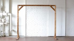 Image of a 8' Wooden Truss