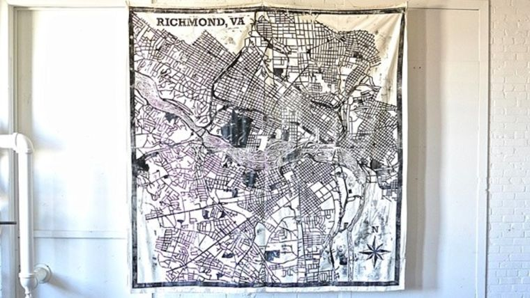 Picture of a RVA Map Backdrop