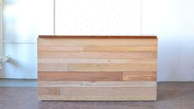 Image of a Homestead Reclaimed Wood Bar