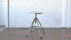 Image of a Aluminum Stool