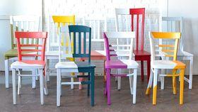 Image of a Asymmetrical Chair - Marigold