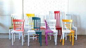 Image of a Asymmetrical Chair - Sunshine