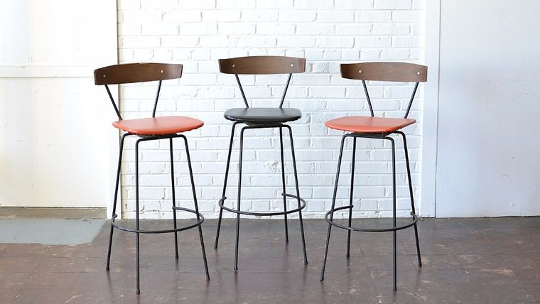 Image of a Mid-Century Bar Stools