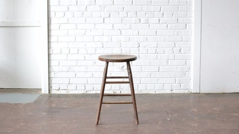 Wooden Stool : goodshuffle.com
