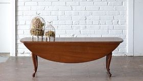 Image of a Skinny Drop Leaf Coffee Table