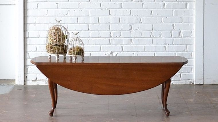 Picture of a Skinny Drop Leaf Coffee Table