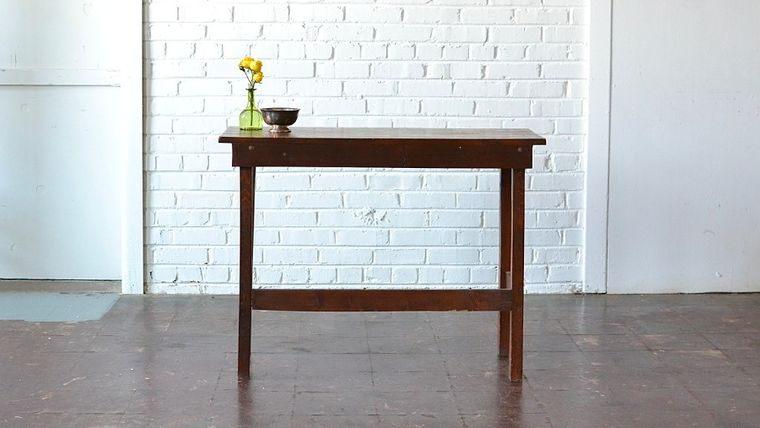 Picture of a Rustic Side Table