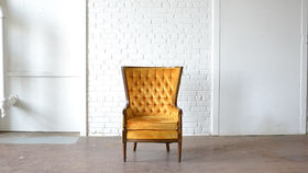 Image of a Seymour Tufted Chair