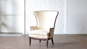 Image of a Lubbock Wingback Chair