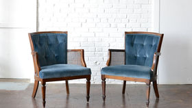 Image of a Hayward Tufted Chair