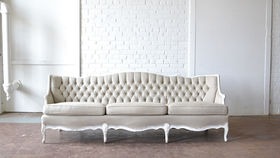 Image of a Fulton Tufted Couch