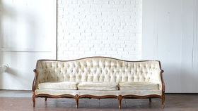 Image of a Caldwell Tufted Couch