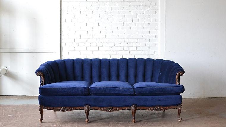Image of a Billings Wingback Sofa