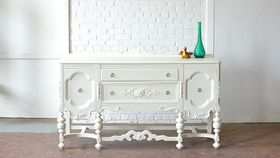 Image of a Scrollwork Sideboard