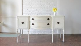 Image of a White Sideboard
