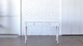 Image of a White Vanity Desk