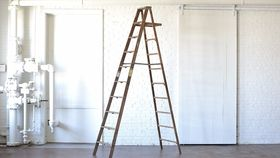Image of a 10' Wooden Ladder