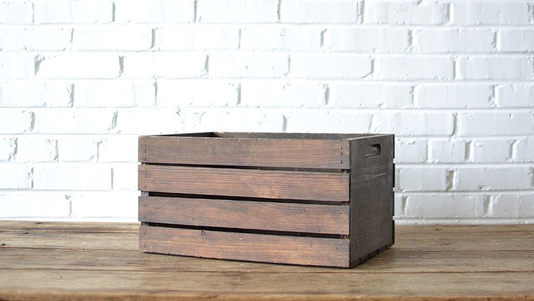Picture of a Wooden Crate #1