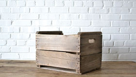 Image of a Wooden Crate #3