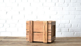 Image of a Wooden Crate #4