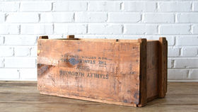 Image of a Wooden Crate #7 (Stanley Hardware)