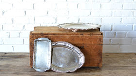 Image of a Vintage Tea Tray