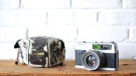 Image of a Vintage Camera