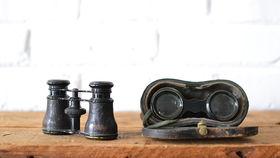 Image of a Vintage Binoculars