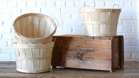 Image of a Half Bushel Basket