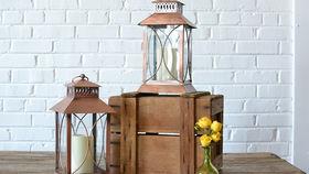 Image of a Copper Lantern