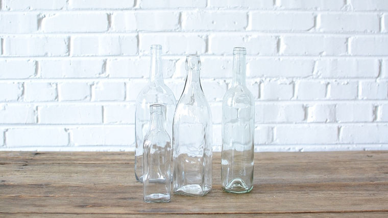 Picture of a Glass Bottles