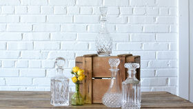 Image of a Glass Decanters