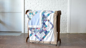 Image of a Square in a Square Quilt