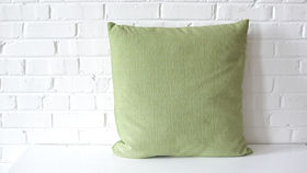 Image of a Oversized Green Square Pillow