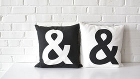 Image of a Ampersand Pillow