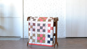 Image of a Nine Patch Quilt