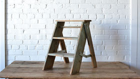 Image of a Wooden Step Ladder