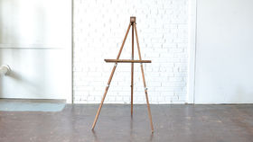 Image of a Wooden Easel