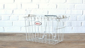Image of a Metal Bicycle Basket
