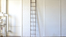 Image of a Long Wooden Ladder