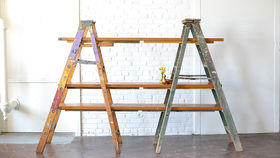 Image of a Ladder Shelving