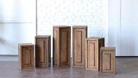 """18"""" Wooden Pedestal image"""