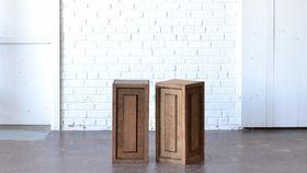 "Image of a 24"" Wooden Pedestal"