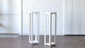 Image of a Modern White Column