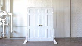 Image of a White Threshold Doors
