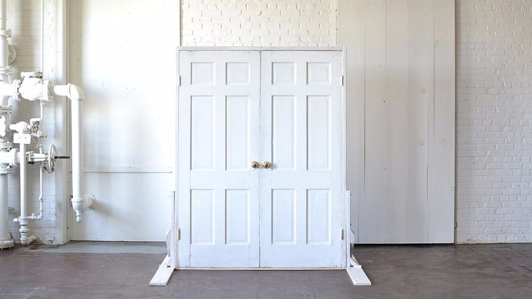 Picture of a White Threshold Doors