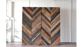Chevron Wooden Backdrop image